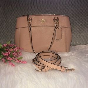 Coach Mini Brooke Carryall Handbag Nude/Pink